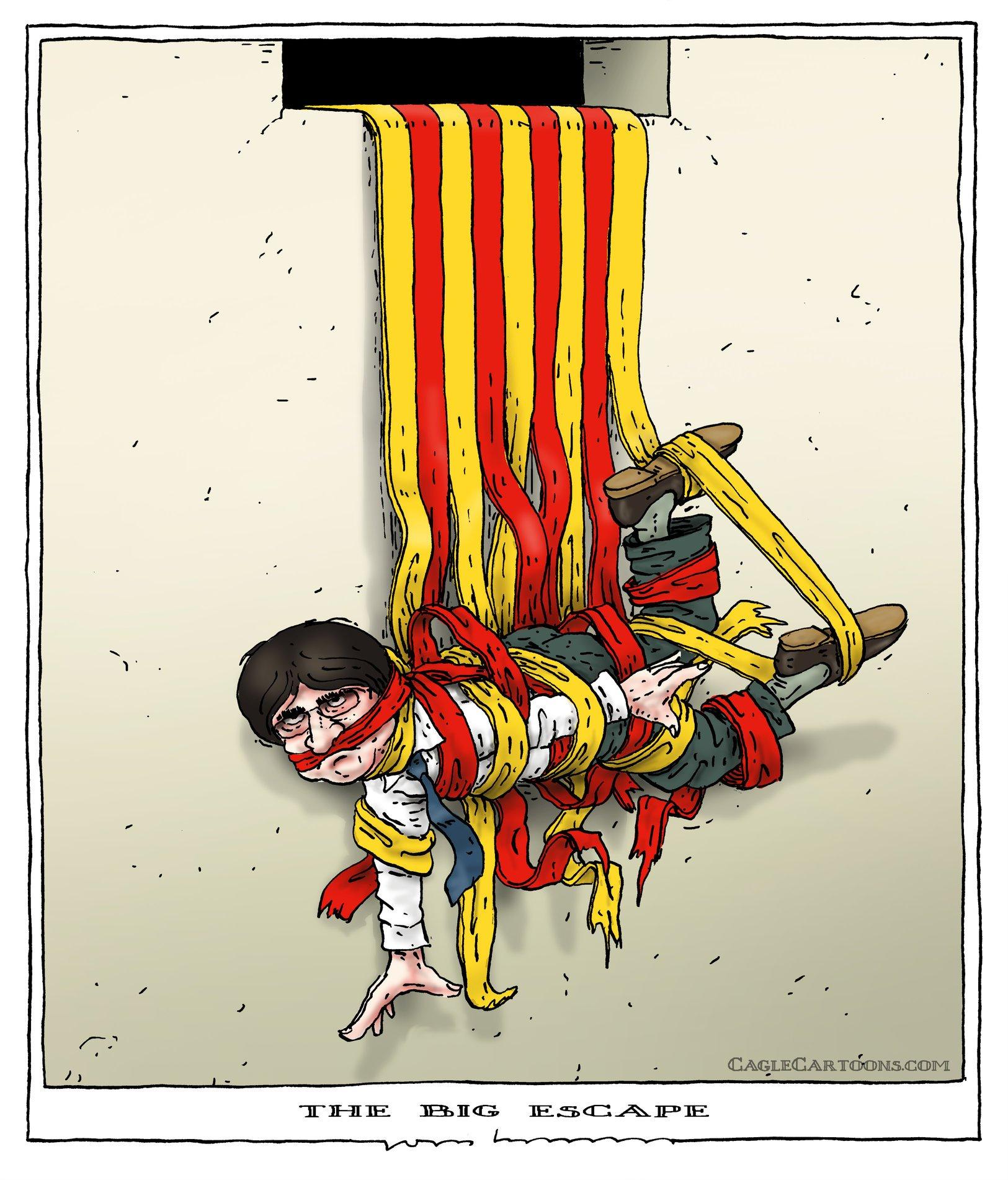 Испанский узник схема