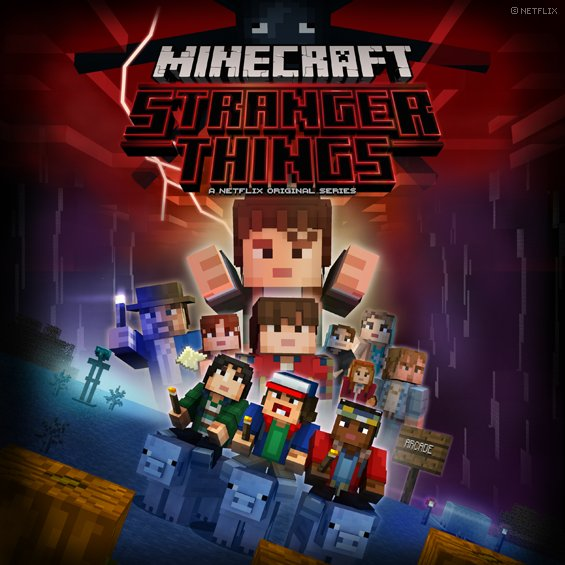 Minecraft On Twitter Stranger Things Comes To Minecraft A New - Skins para minecraft original