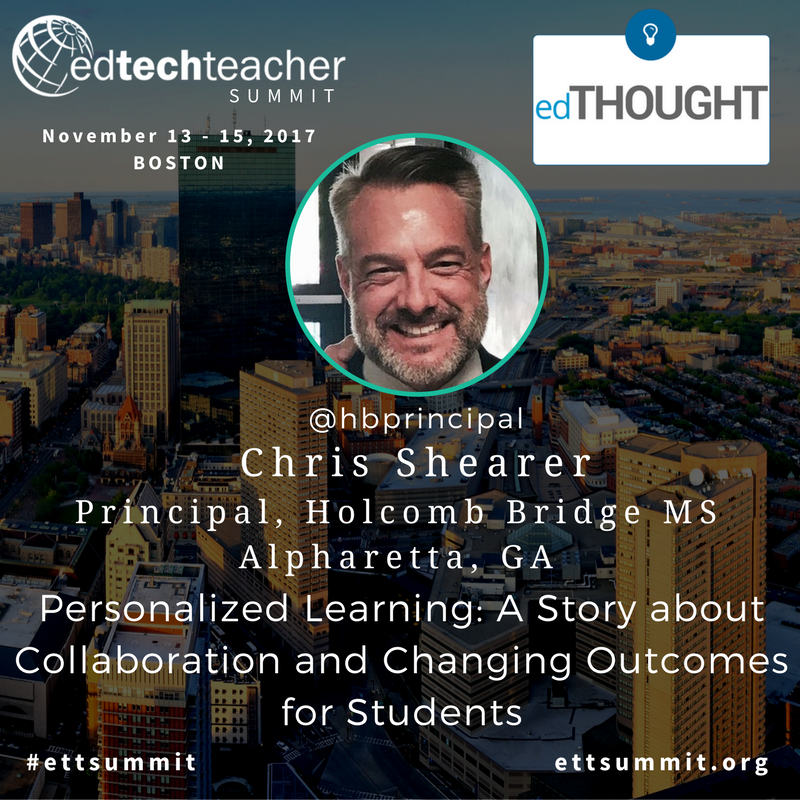 Image: EdTechTeacher Summit - Personalized Learning Session