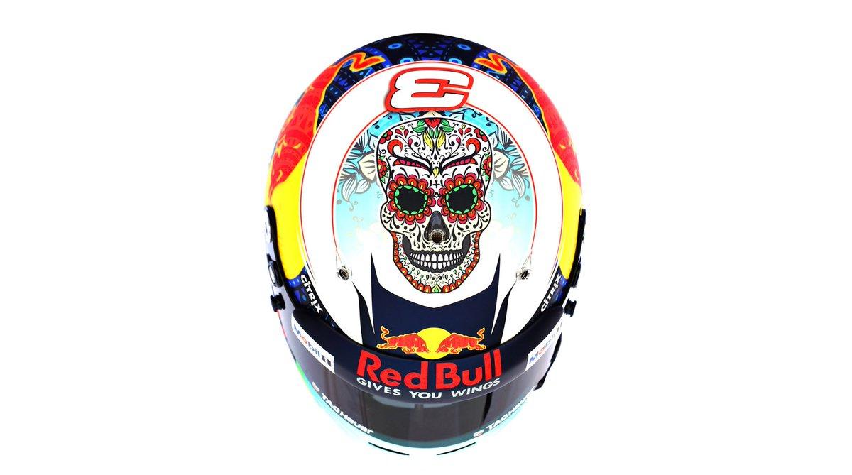 Daniel Ricciardo's helmet for this weekend