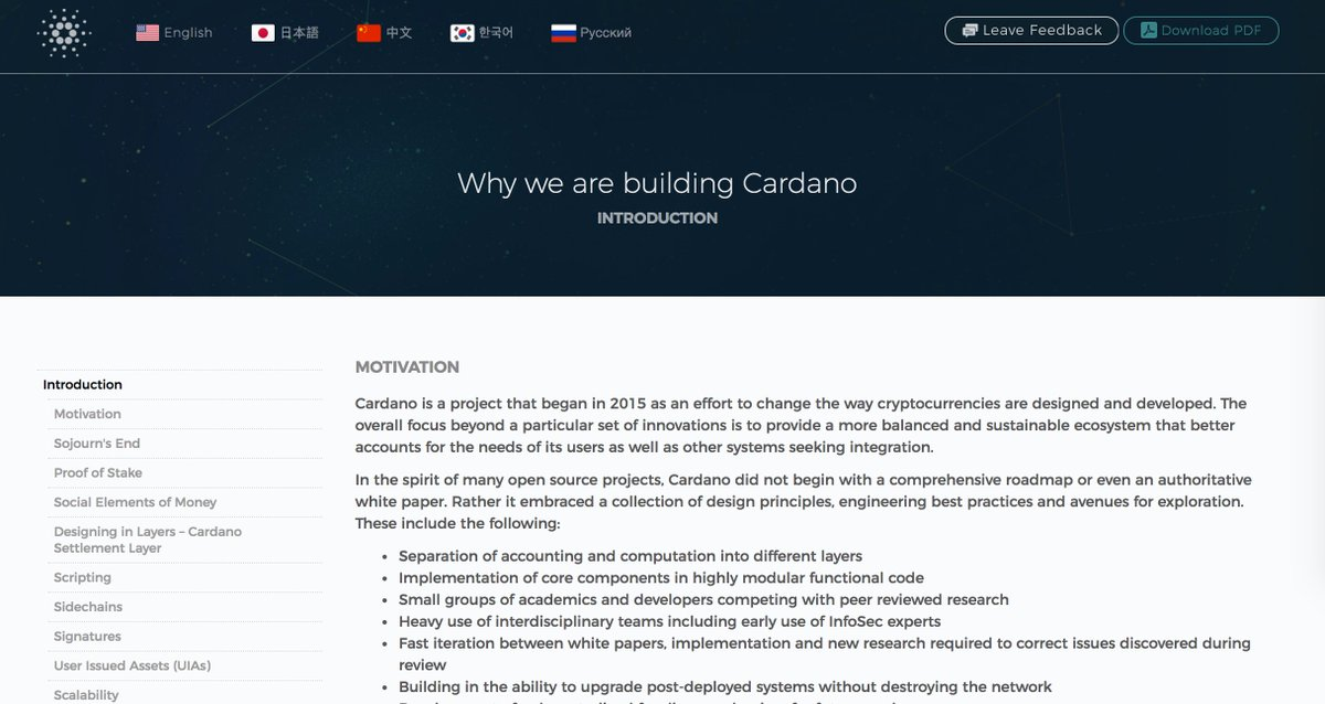 Input Output On Twitter Why Cardano Read About Our Philosophy Behind The Design And Development Of Cardano Here Https T Co 3ualiigcjk Blockchain Fintech Https T Co Jhersunyey