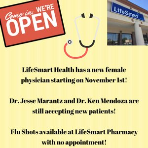 #Winnipeg, have you got your flu shot? Do you have a family physician? Do you need a walk in clinic?  LifeSmart Health has you covered! https://t.co/4zkSWAFgPh