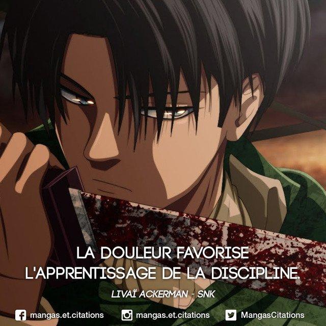 Citation Manga Anime On Twitter La Douleur Favorise L