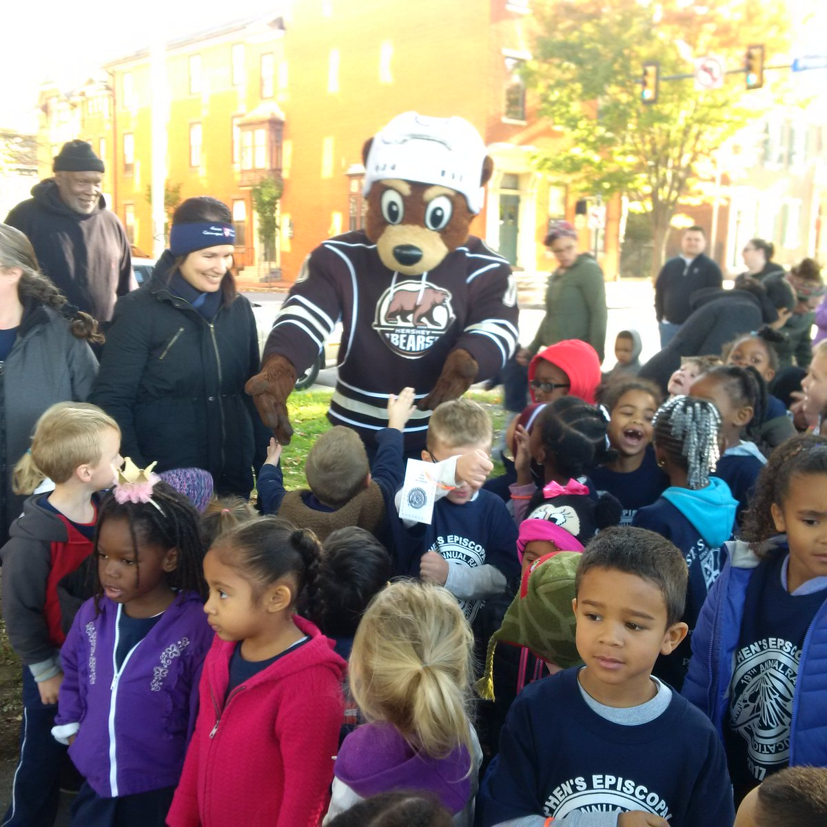 Thanks to students, parents, faculty, sponsors (Coco & Grrrounder too) for help making Race for Education a success