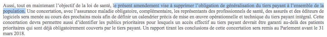 Quand le #gouvernement supprime purement et simplement le #TiersPayantGénéralisé... tranquilou les #LREM?<br>http://pic.twitter.com/P2DE4VrKgW