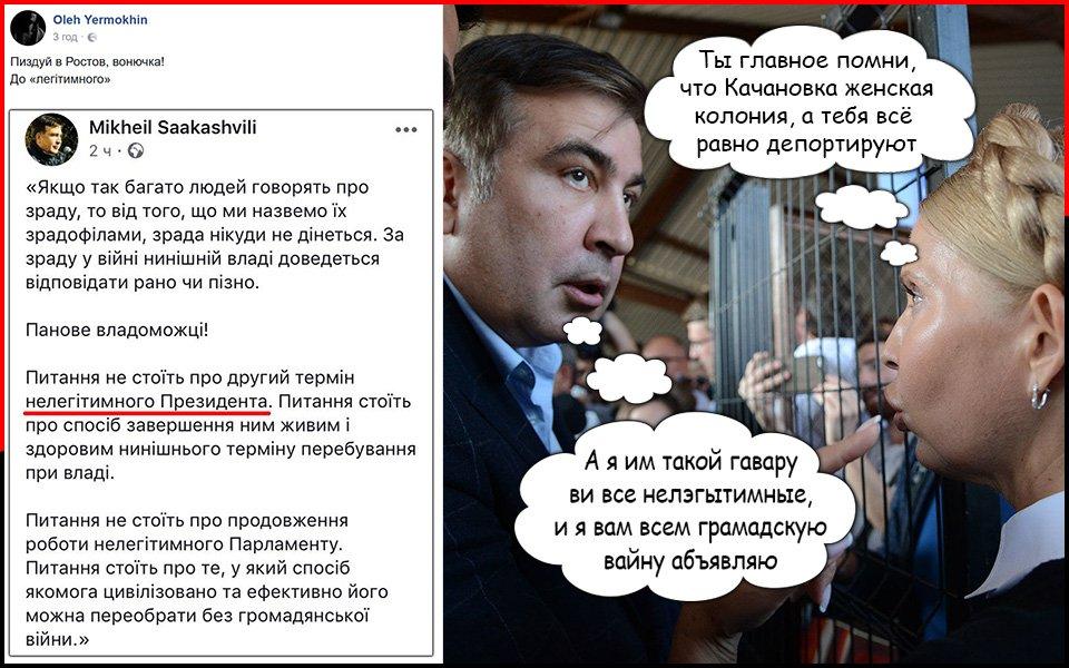 Шкиряк: Почему-то Саакашвили не пытается захватить органы власти в Тбилиси - Цензор.НЕТ 2652