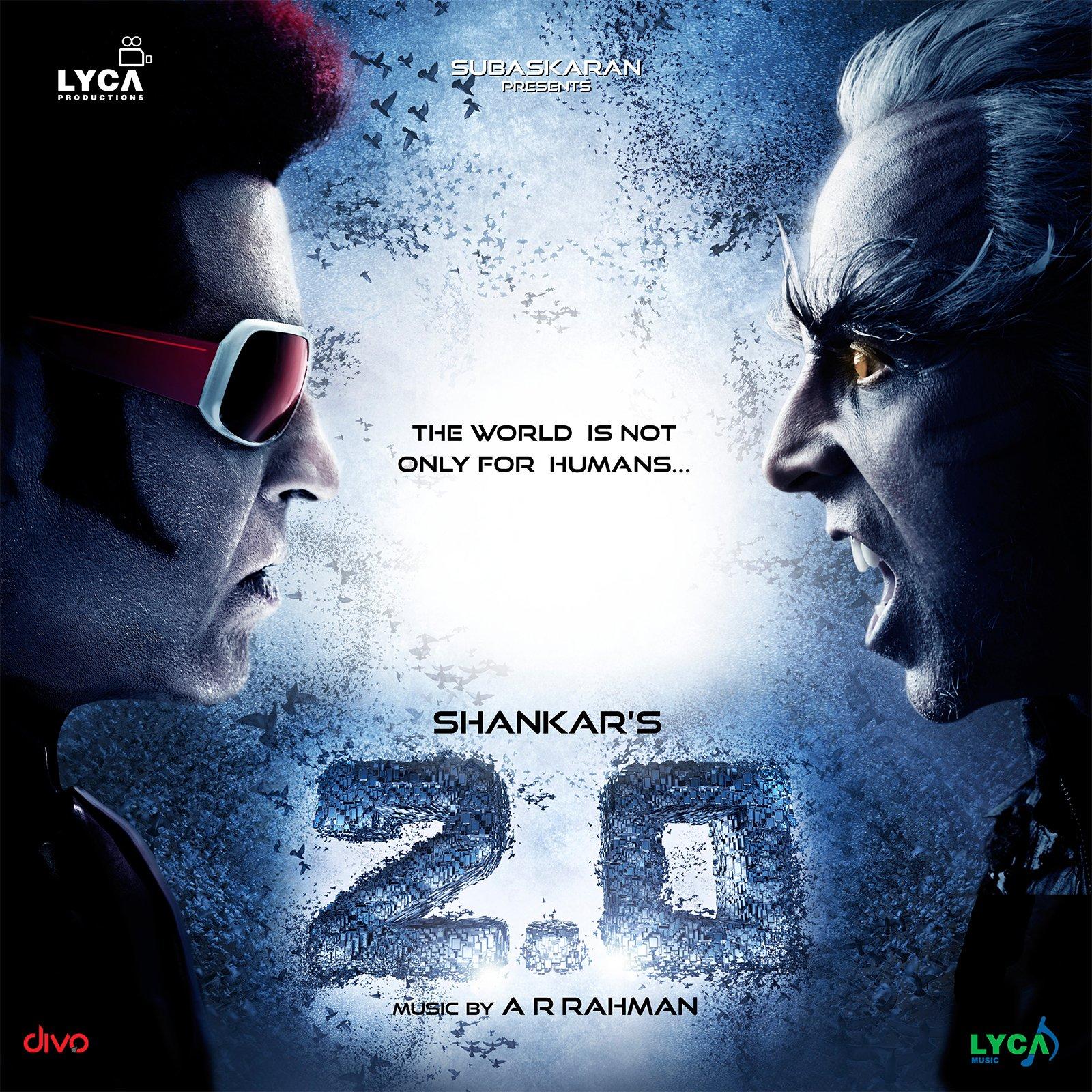 Rajnikanth Akshay Kumar Movie 2.0 Teaser Leaked