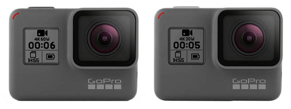 GoPro Hero6 Black vs. Hero5 Black: What's the difference?