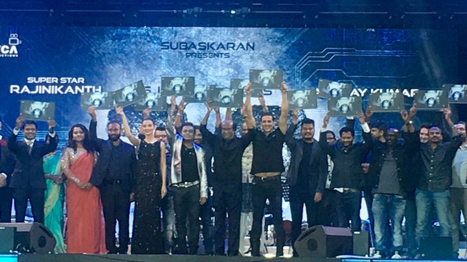 And here it is, the moment you all have been waiting for...the much awaited #2Point0AudioLaunch! https://t.co/gTTADiANxE