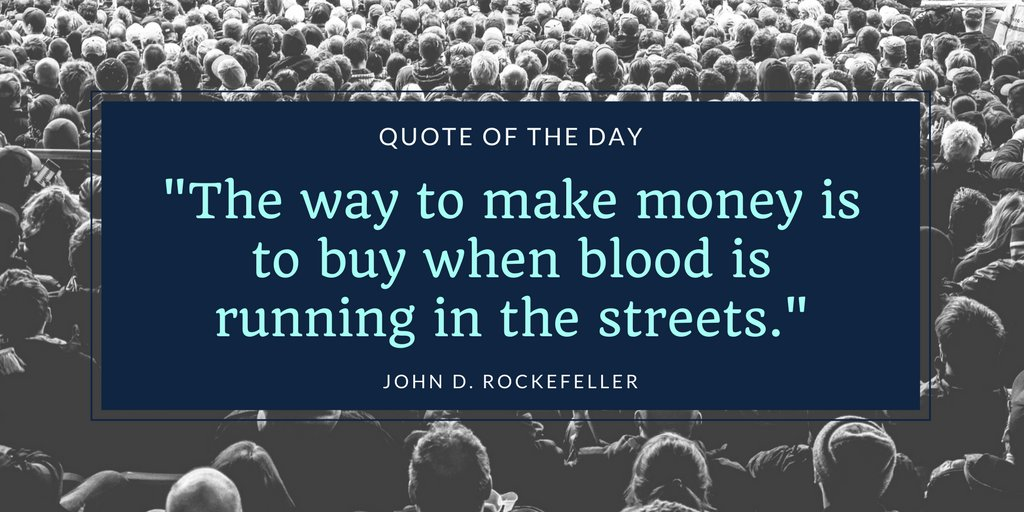Quote from John Rockefeller, a famous former businessman