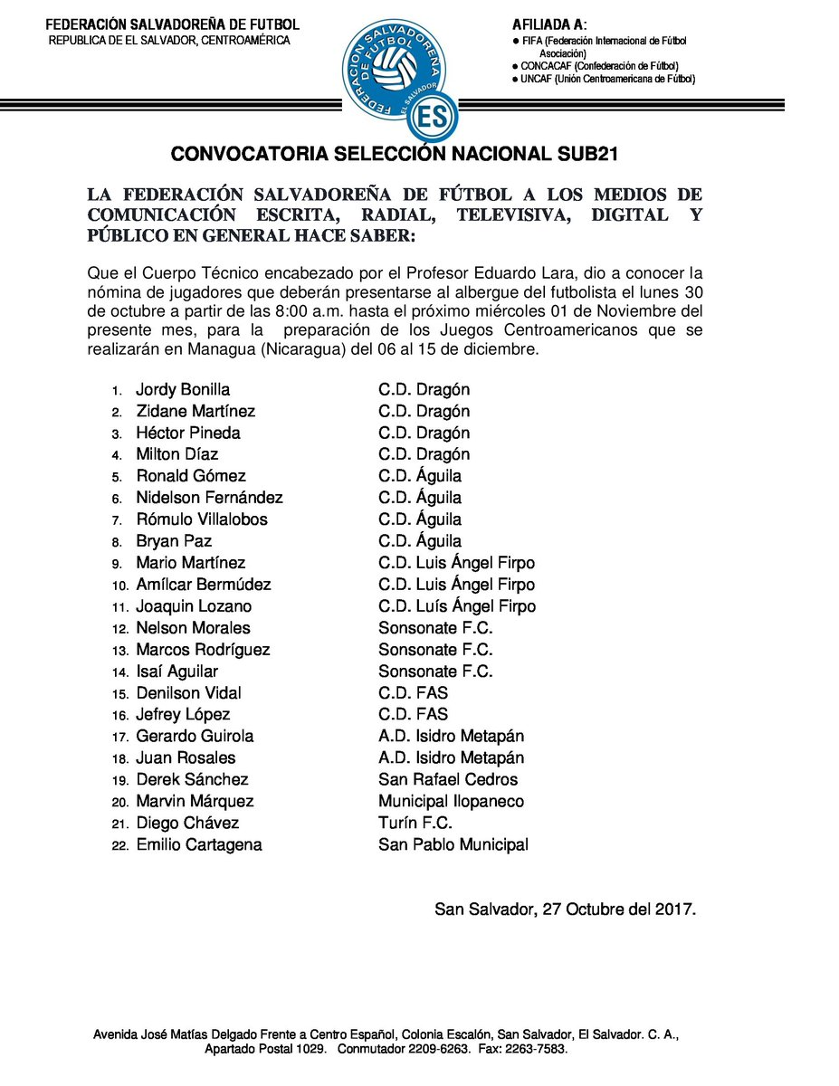 Juegos Bolivarianos: Santa Marta, Colombia 2017. [Seleccion sub18] DNLR1SNVAAAGT1G