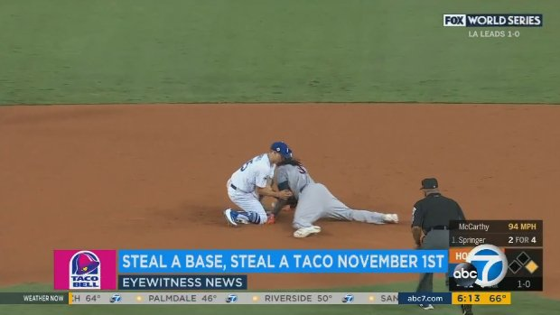 2aa739214 taco bell offers free tacos in honor of worldseries stolen base