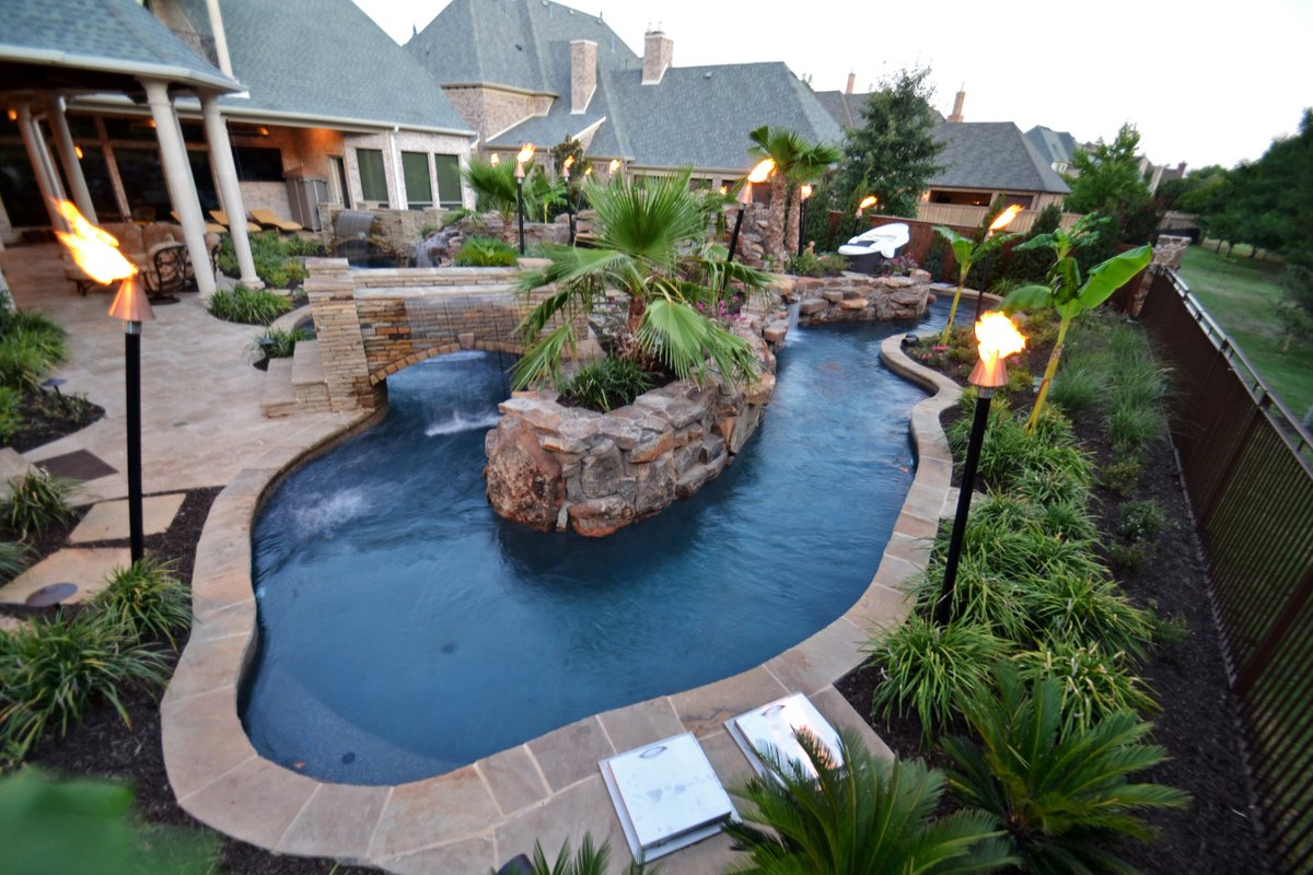 lazy river pools for your backyard best 25 backyard lazy river
