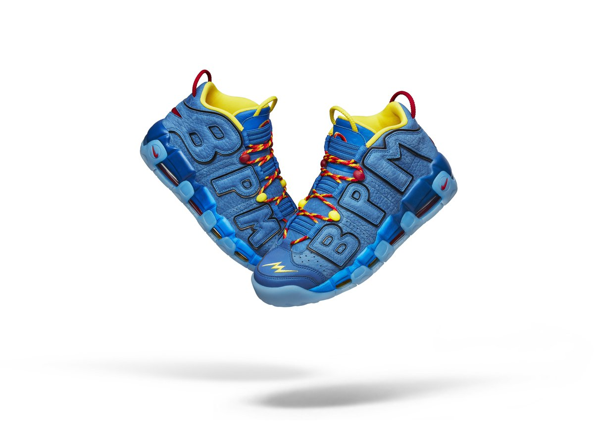 11-year old Brody Miller styled his Doernbecher Nike Air More Uptempo after  Generator Man c2e66aa9b0