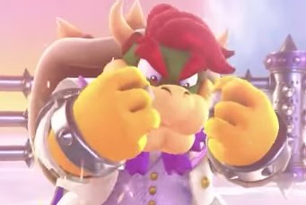 maestro oak on twitter bowser s hair in super mario odyssey super