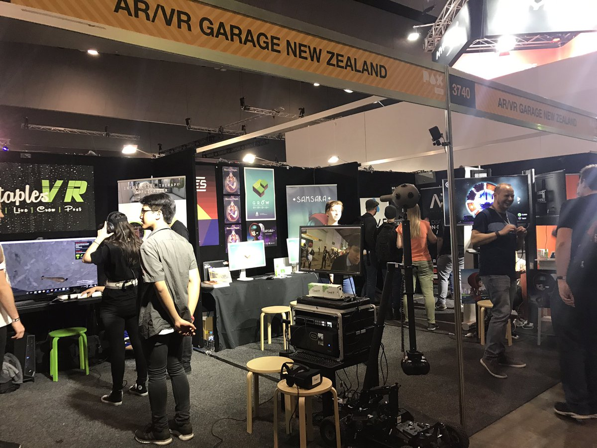 Image result for VRCADE at AR/VR Garage auckland kids