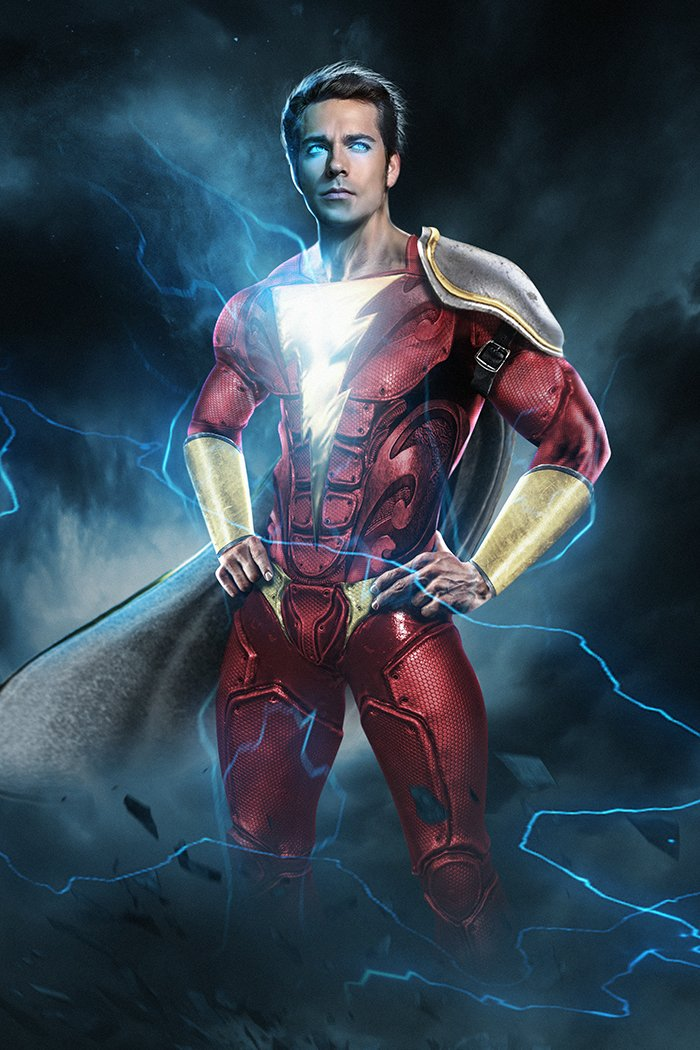 Zachary Levi Responds To Being Cast As The Mighty SHAZAM ...