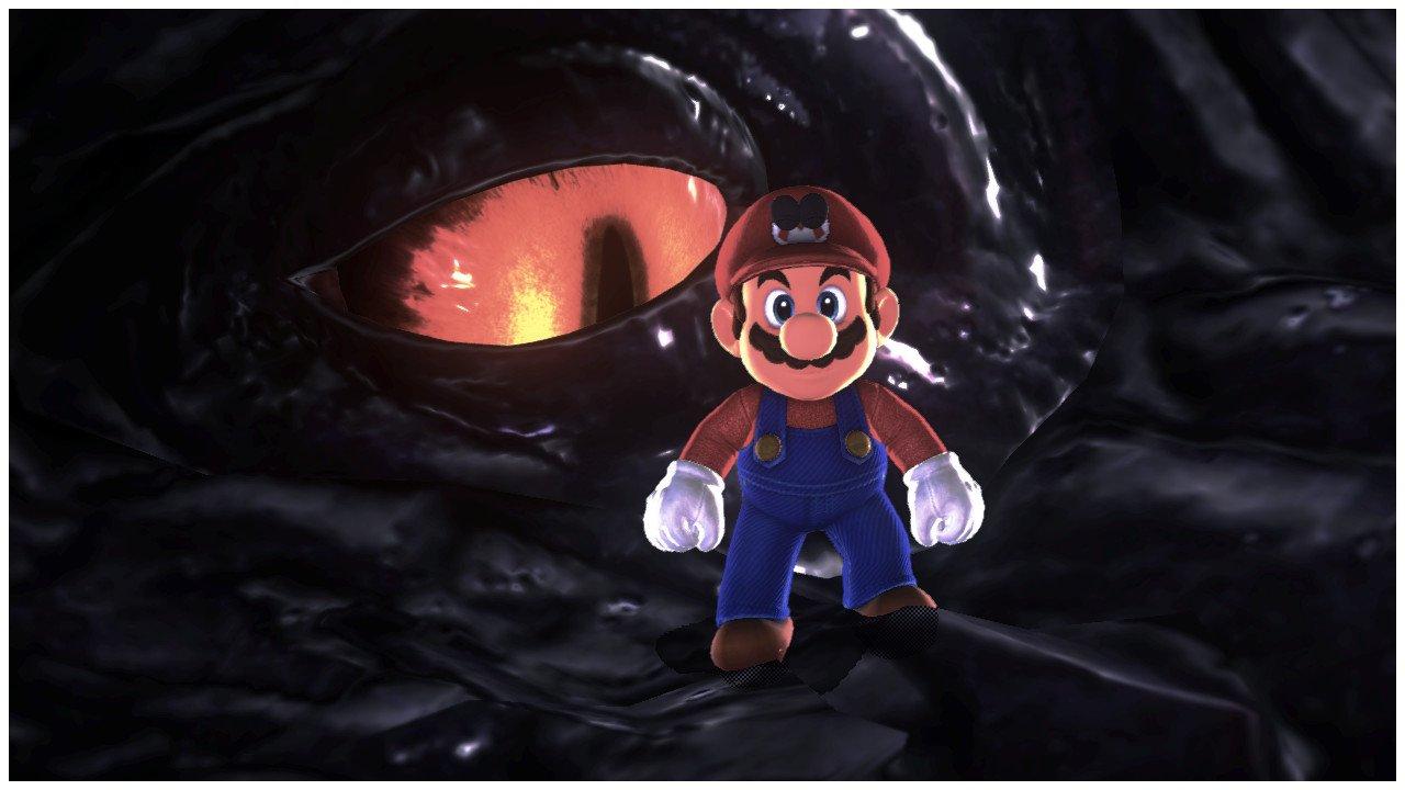 Mario on Dragon