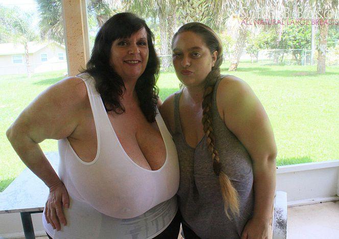 April chest huge tits