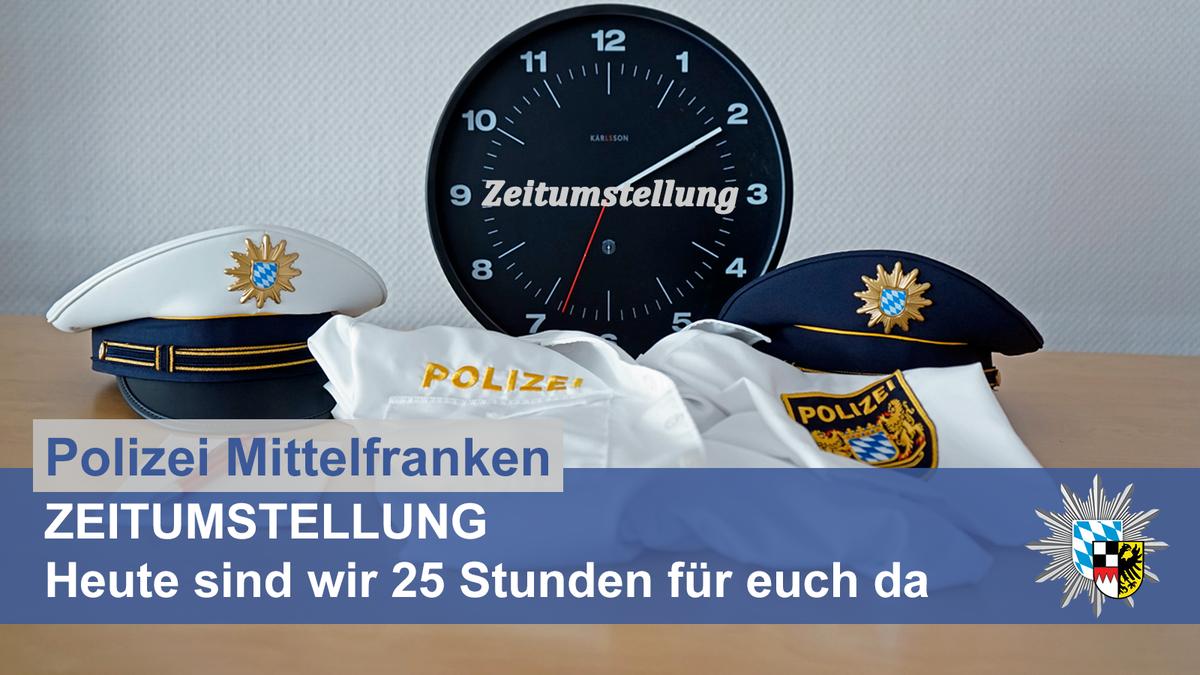 Polizei Mittelfranken On Twitter Zeitumstellung Heute Nacht 3