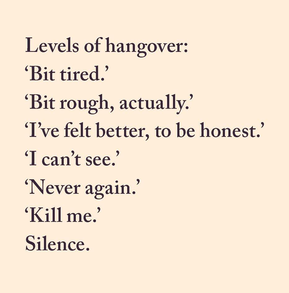 A British Hangover