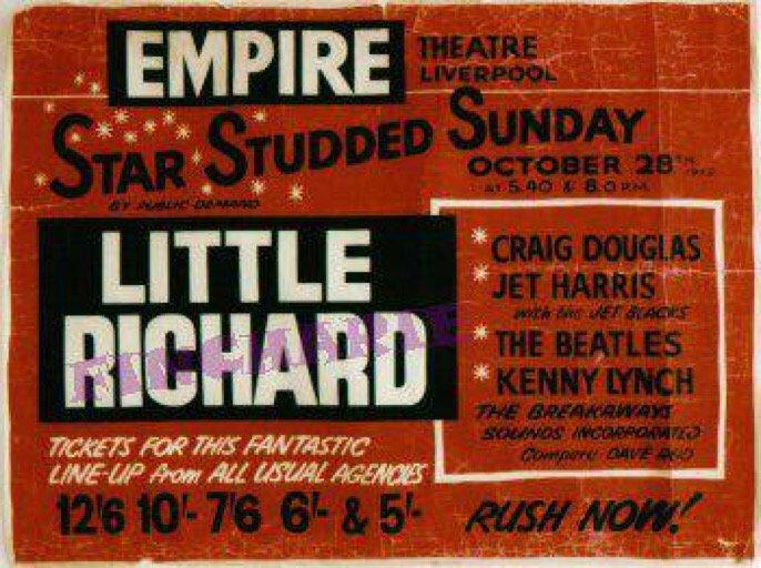 Bildresultat för empire theatre liverpool 1962