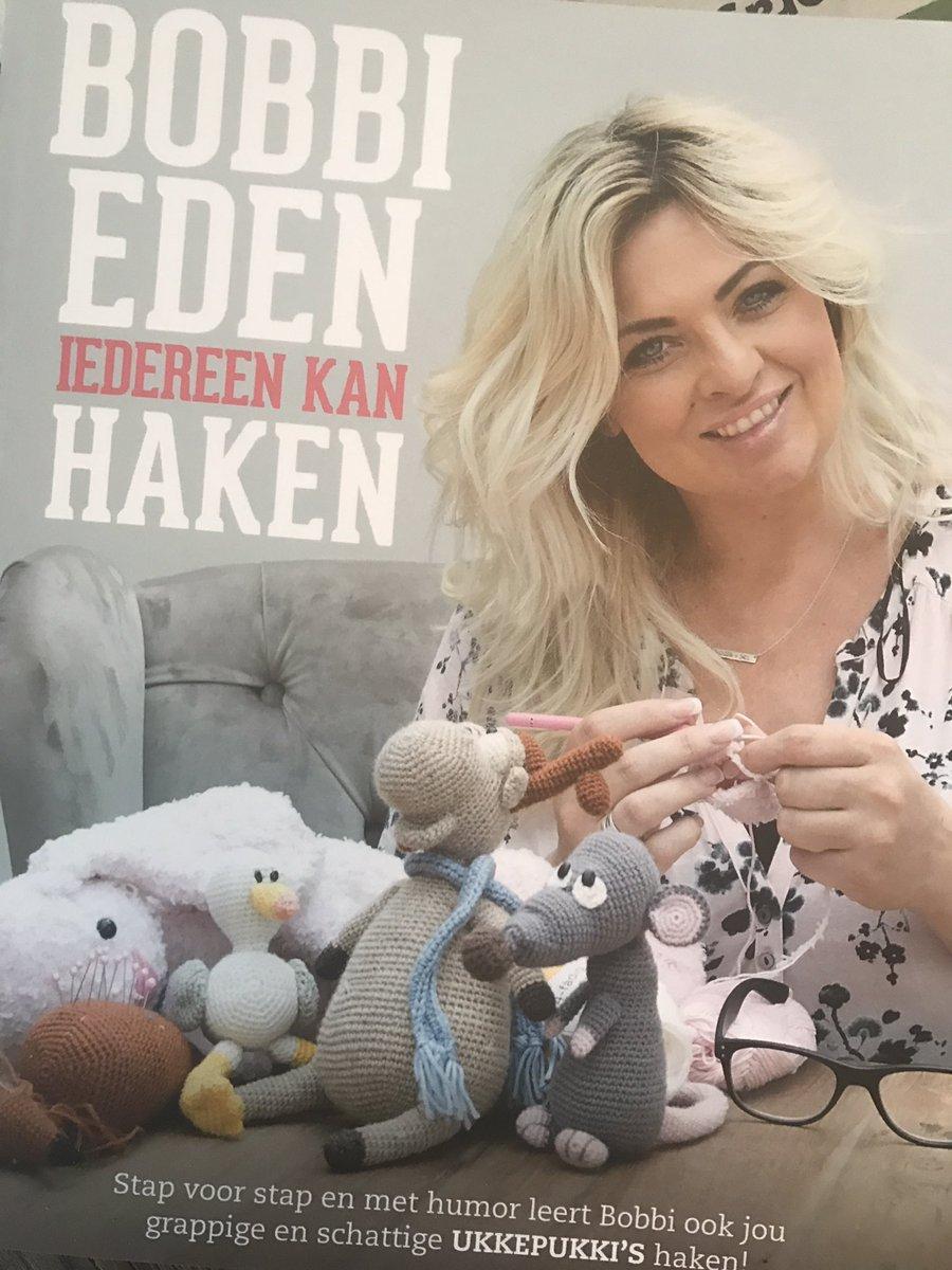Bobbi Eden On Twitter Belletje Van De Uitgever Dat Mijn Haakboek