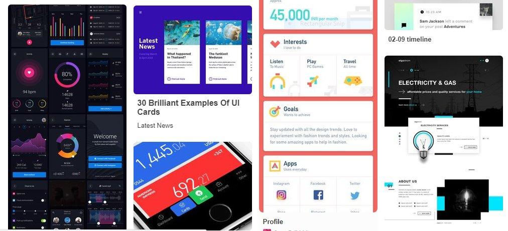 怎么设计手机 APP 中的卡片?卡片 UI UX 设计的最佳实践 #设计参考 // Best practices for designing cards t https://t.co/HQRT27Adw4 https://t.co/Zovc7Y5zBC 1
