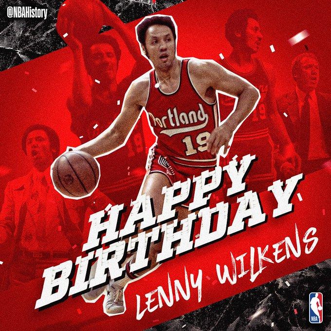 Happy 80th Birthday, Lenny Wilkens!