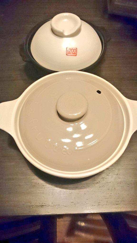 test ツイッターメディア - たまたま通った DAISOで久々の買い物? ちょうどいい土鍋みつけた?? 色も大きさも好き?  ブタメンは娘にお土産??  #DAISO #ダイソー #土鍋 #ブタメン https://t.co/MRGCOfl6Rw