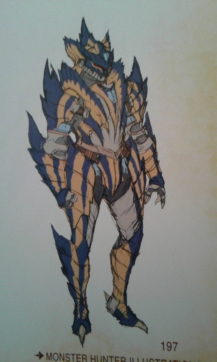 Toro On Twitter One Of The Early Tigrex Blademaster Armor Male