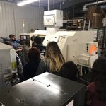 On October 13th, 2017, we were given the opportunity to give a tour of our shop to about 70 students from Brush High School #MFGDay17 #mfg