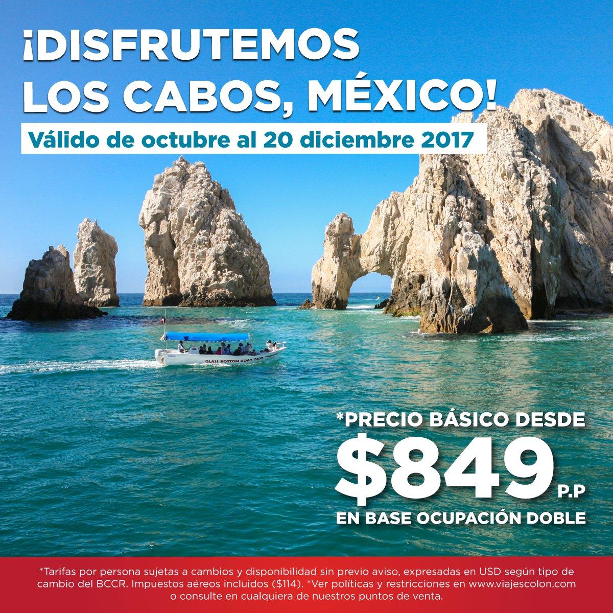 #LosCabos, un lugar único que merecemos visitar. Boleto aéreo + traslado + alojamiento + impuestos  reservas@viajescolon.com #Vacaciones https://t.co/DSChU5oUqX