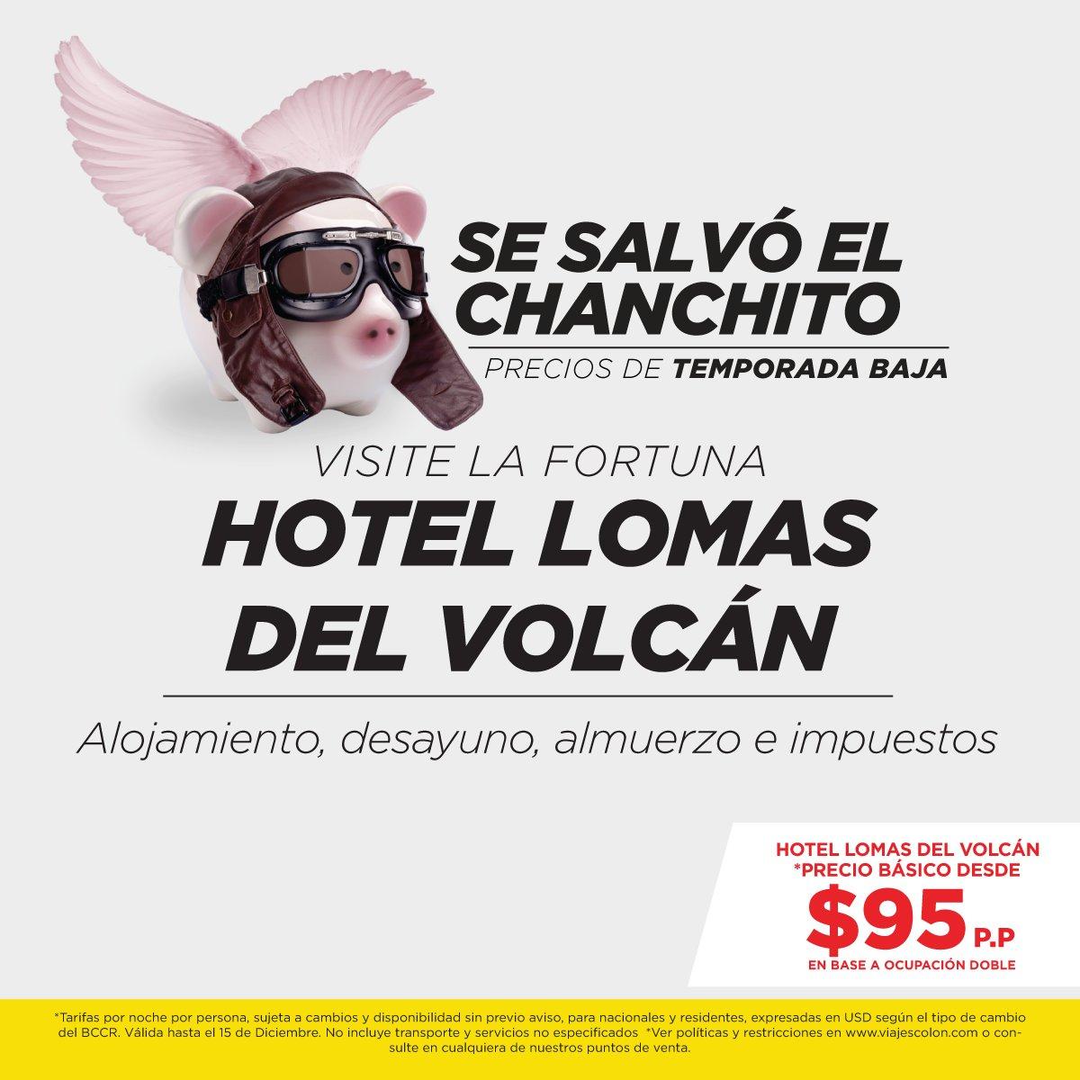 ¡Disfrutemos de #CostaRica! Visite La Fortuna y relájese. Quiero ir: reservas@viajescolon.com  #Viajes #Relajarse #AmomiPaís #SanCarlos https://t.co/GEitdG2X8v