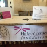 @_hcfoundation proud to support @Aptaofma fall conference. 60+ students in attendance in Haley's honor