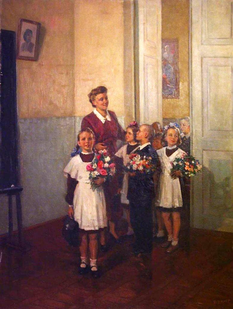 Днем, картинки советская школа