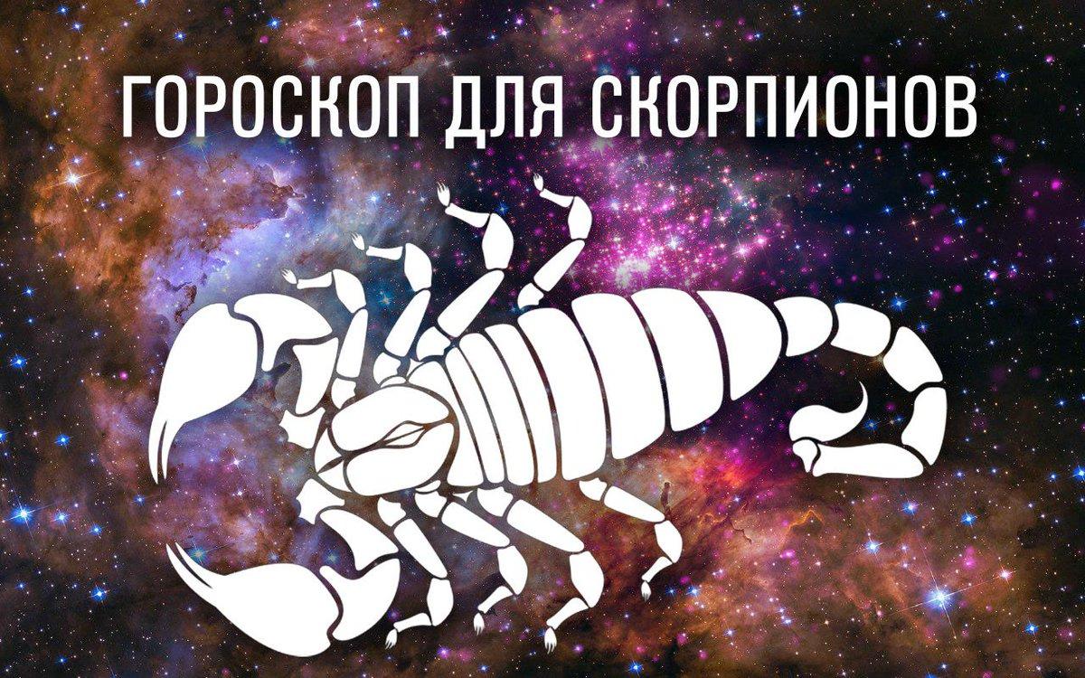 Скорпиое гороскоп на завтра