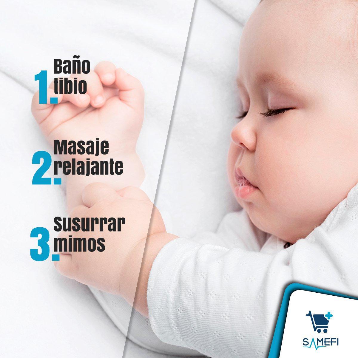 Esta sencilla rutina le enseñará a tu #bebé a saber cuándo es la hora del sueño, un momento clave para su desarrollo integral. #TipSamefi https://t.co/UafAvEorCb