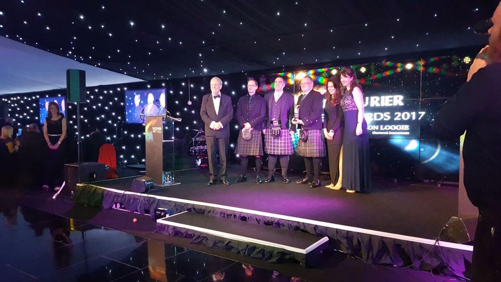 Winners!  @exscientialtd are Science &amp; Technology Business of the Year! #CourierBizAwards #mostinnovative #spinout<br>http://pic.twitter.com/OCVhU9Ehmy