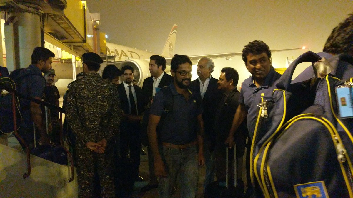 PAK vs SL 2017: Sri Lanka Security Experts Satisfied With Security Arrangement in Lahore 2