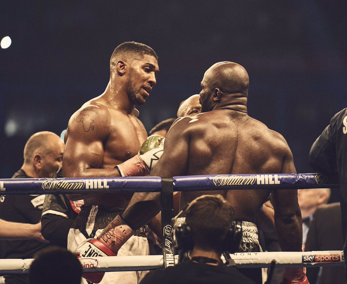 Respect to Takam. Onto a positive 2018 🤜...