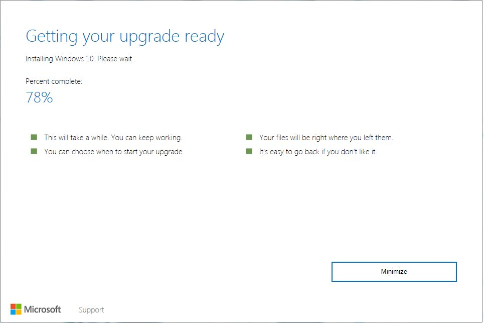 is it too late to upgrade to windows 10