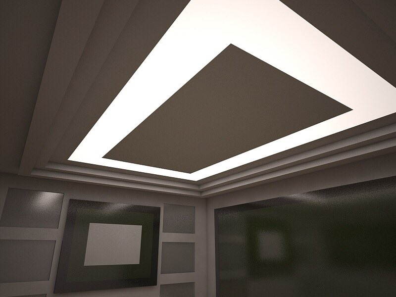 Световой натяжной потолок – яркость и оригинальность для каждого