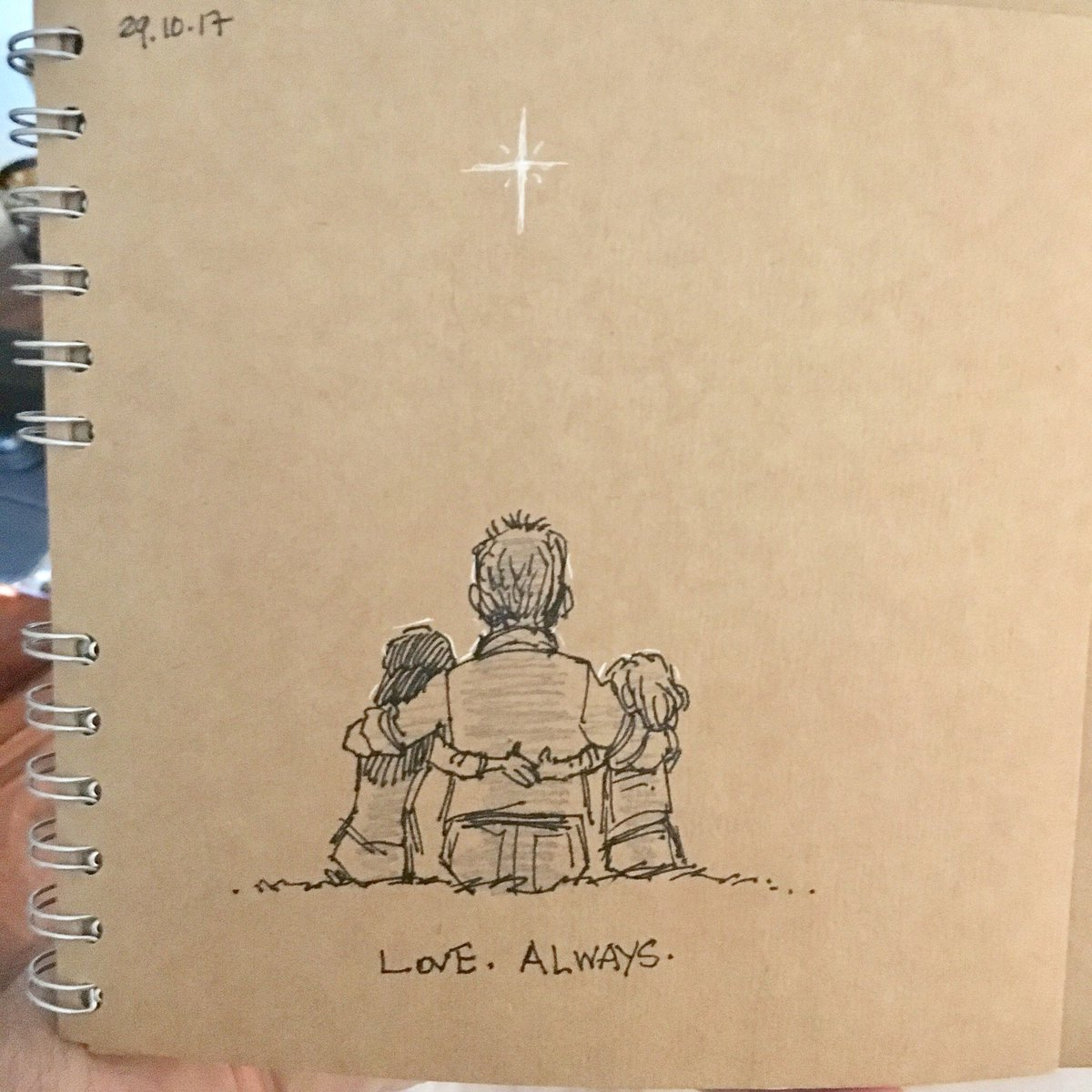 Animator Keeps Late Wife's Memory Alive Through Heartfelt Sketchbook Doodles