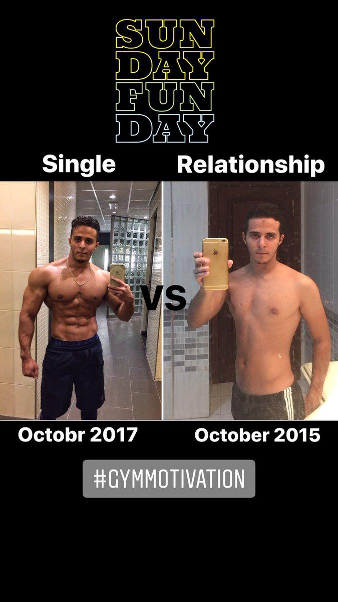 single vs in relationship