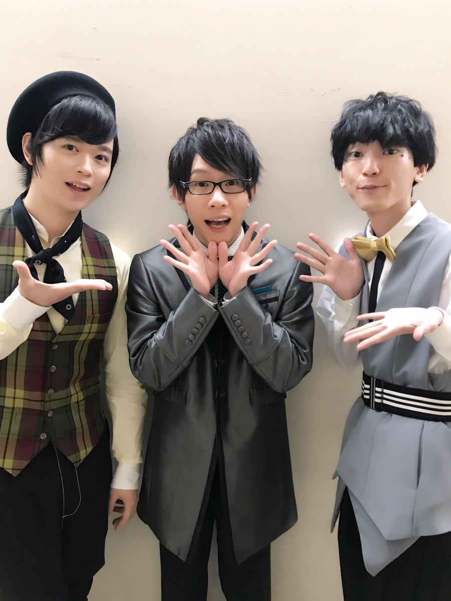 そしてもう一枚✨ フラ中生3人!!!!! #エースリー