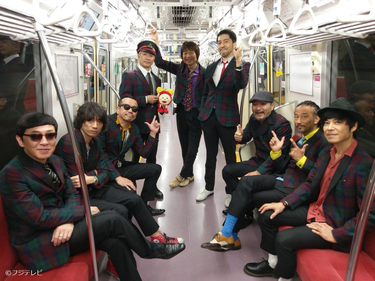 地下鉄でライブを開催した東京スカパラダイスオーケストラのみなさんにインタビュー♪楽しみだな~(*>∀<*) #めざましテレビ