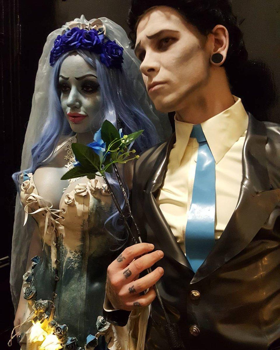 """latex kitsch on twitter: """"the greatest #halloween couple"""