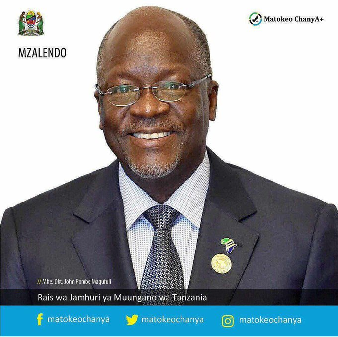 Happy Birthday Rais wetu mpendwa Dr. John Pombe Joseph Magufuli. Tunakuombea Afya njema daima.