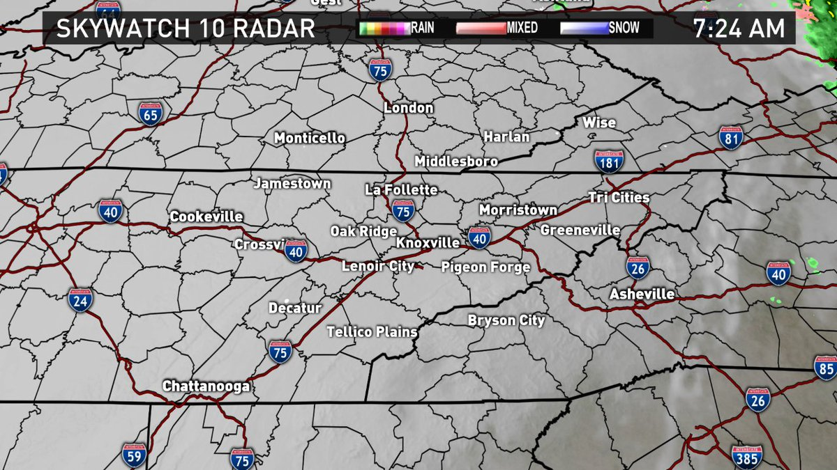 Wbir Weather On Twitter Anyone Waking Up To Some Light Snowflakes